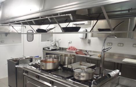 Cocinas industriales sigas for Cocinas industriale